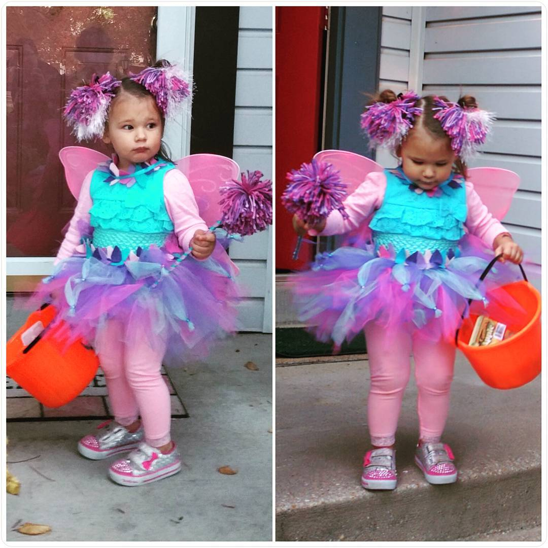 zadie was 1 year 9 months old happy halloween